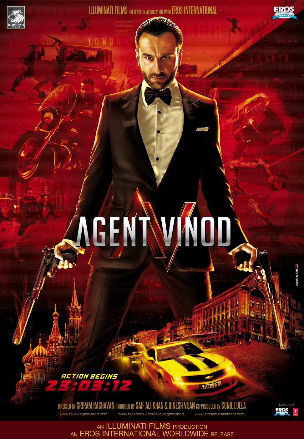 Agent Vinod Movie Poster