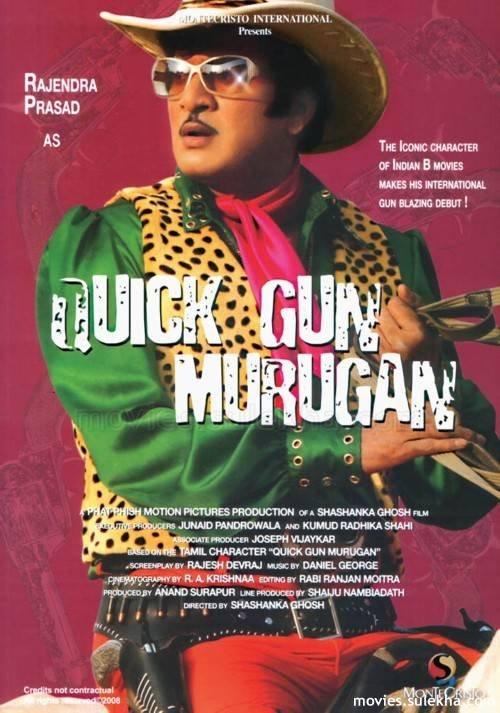 Quick Gun Murugun Movie Poster