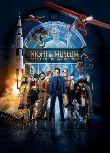 Night at the Museum: Battle of the Smithsonian Movie Poster