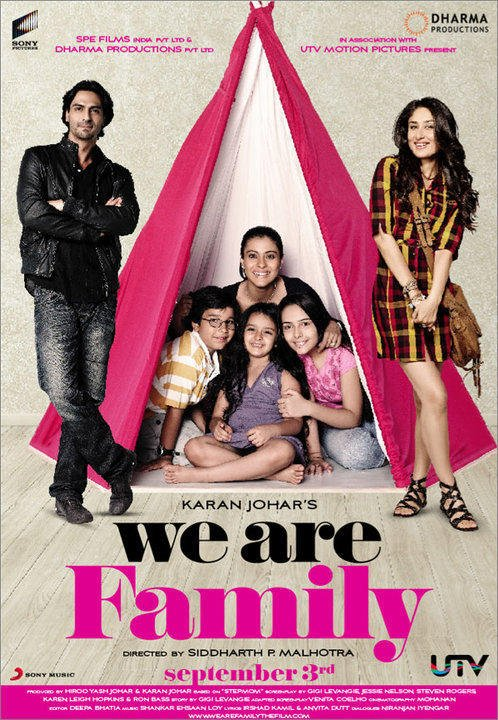 We Are Family Movie Poster