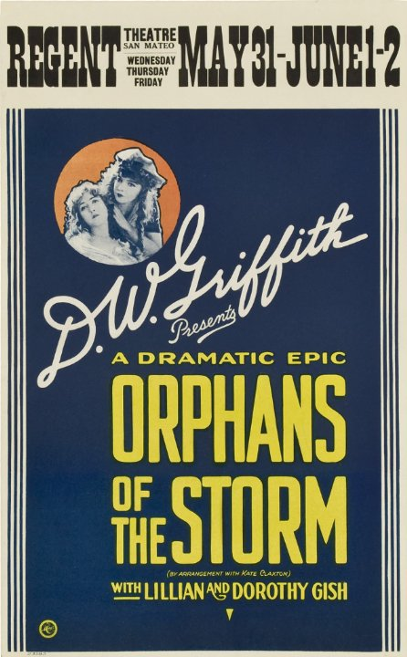 Orphans of the Storm Movie Poster