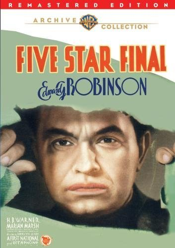 Five Star Final Movie Poster