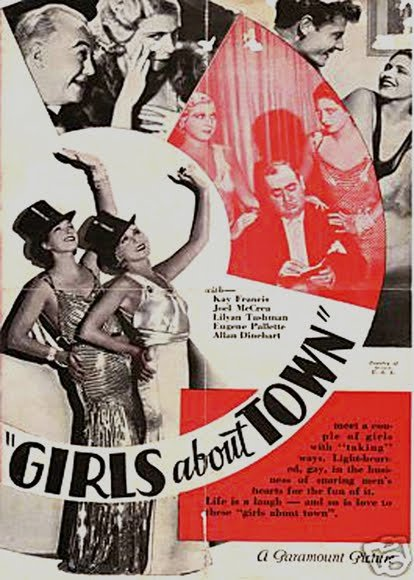 Girls About Town Movie Poster