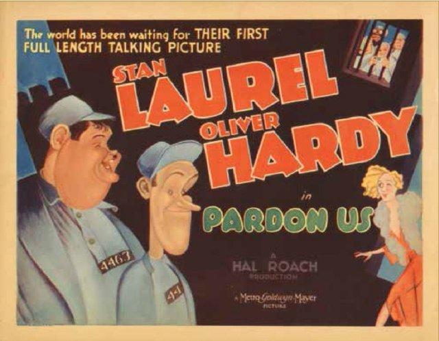 Pardon Us Movie Poster