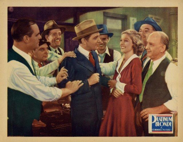 Platinum Blonde Movie Poster