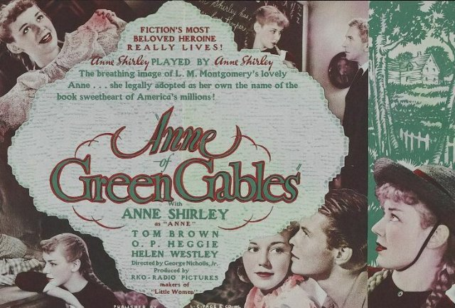Anne of Green Gables Movie Poster