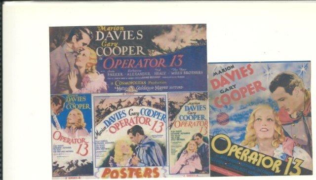 Operator 13 Movie Poster