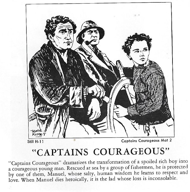 an analysis of captains courageous a film Learn the major plot points and story structure of captains courageous.