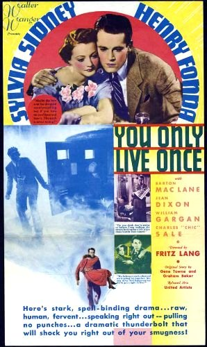 You Only Live Once Movie Poster