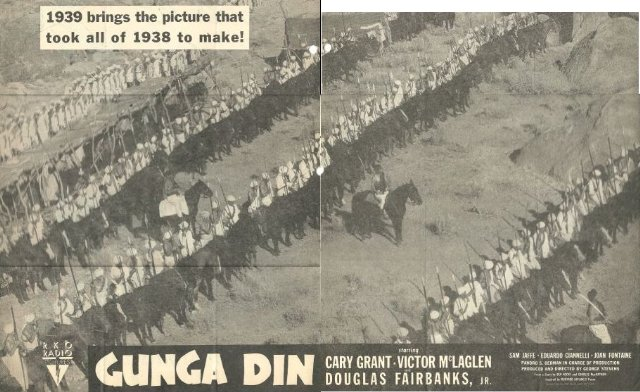 Gunga Din Movie Poster