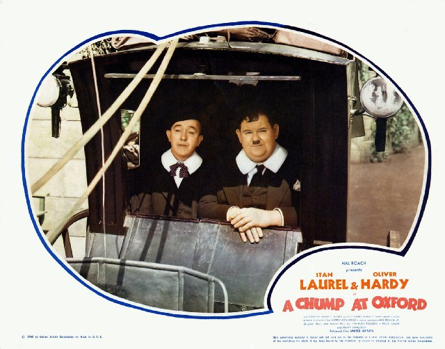 A Chump at Oxford Movie Poster