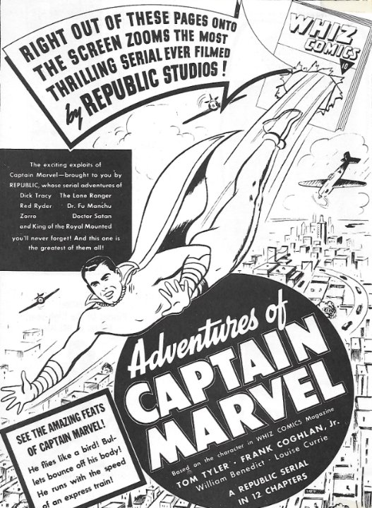 Adventures of Captain Marvel Movie Poster