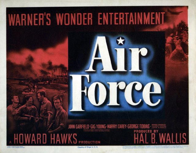 Air Force Movie Poster