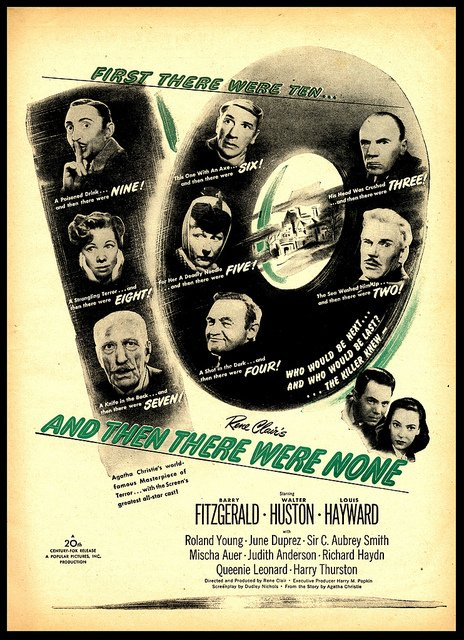 And Then There Were None Movie Poster