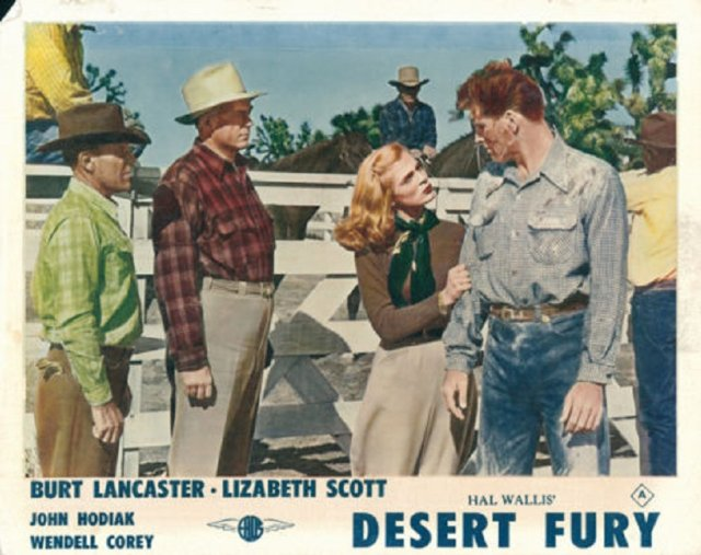 Desert Fury Movie Poster