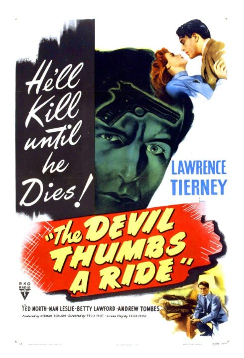 The Devil Thumbs a Ride Movie Poster