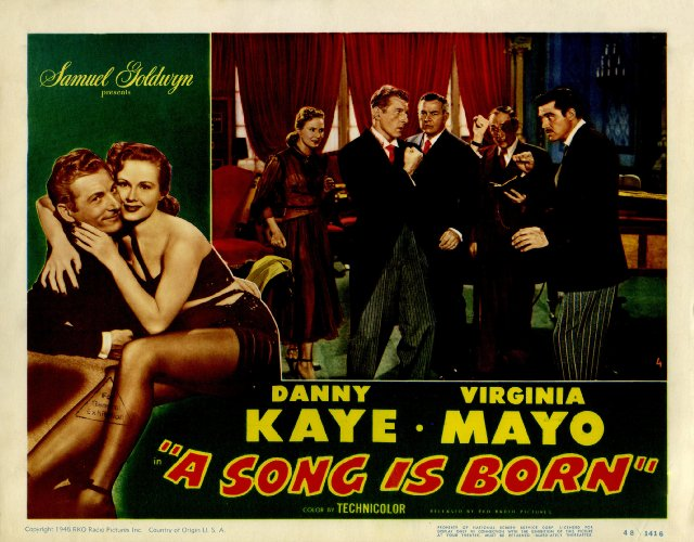 A Song Is Born Movie Poster