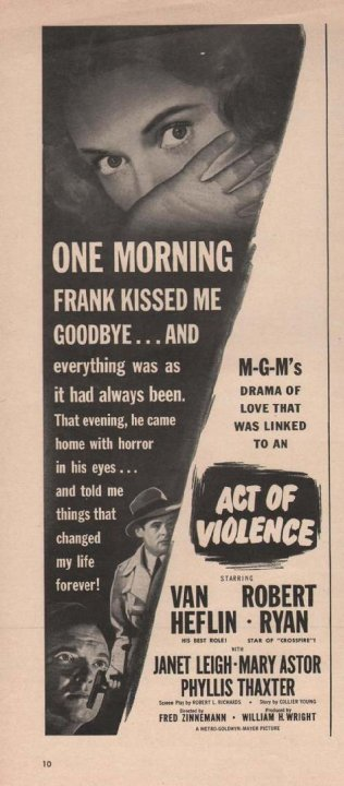 Act of Violence Movie Poster