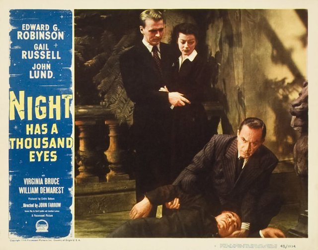 Night Has a Thousand Eyes Movie Poster