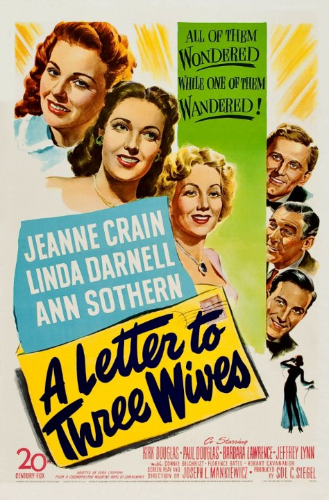 A Letter to Three Wives Movie Poster
