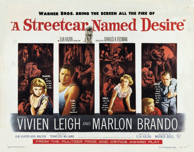 A Streetcar Named Desire Movie Poster