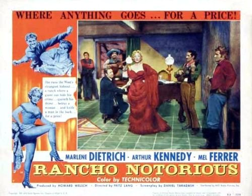 Rancho Notorious Movie Poster