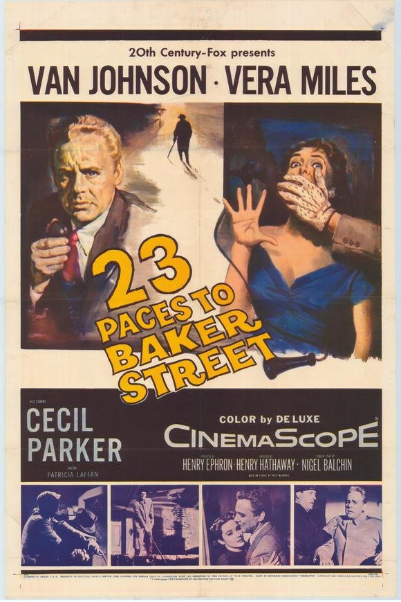 23 Paces to Baker Street Movie Poster