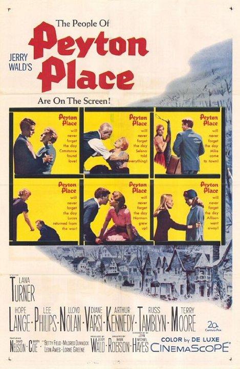 Peyton Place Movie Poster