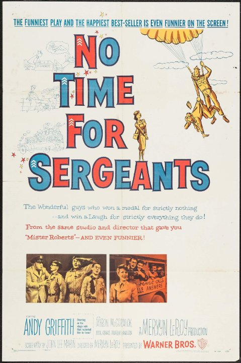 No Time for Sergeants Movie Poster