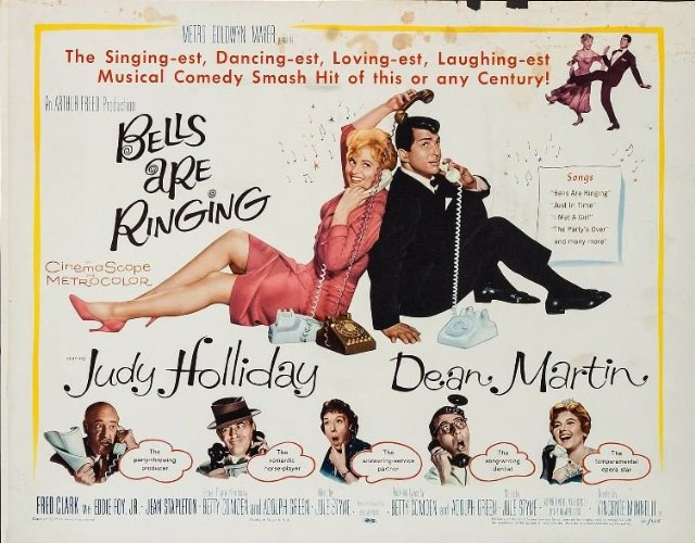 Bells Are Ringing Movie Poster
