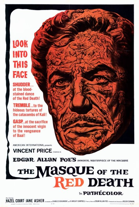 The Masque of the Red Death Movie Poster