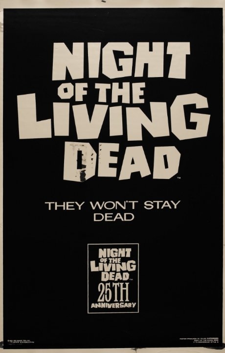 Night of the Living Dead Movie Poster