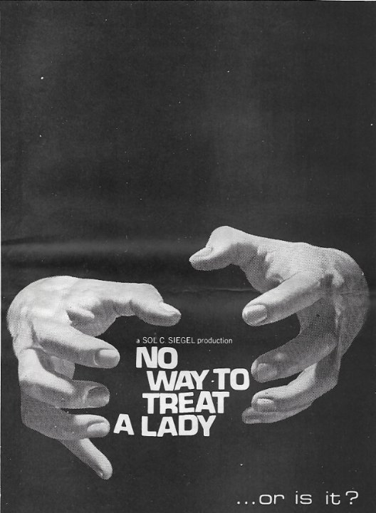 No Way to Treat a Lady Movie Poster
