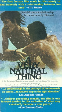 A Very Natural Thing Movie Poster