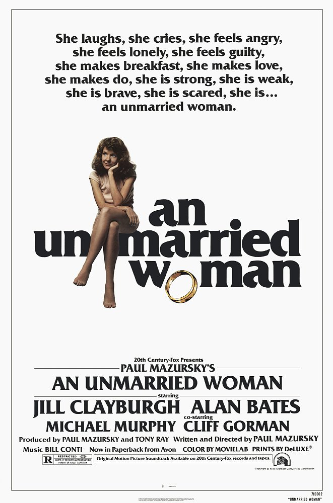 An Unmarried Woman Movie Poster