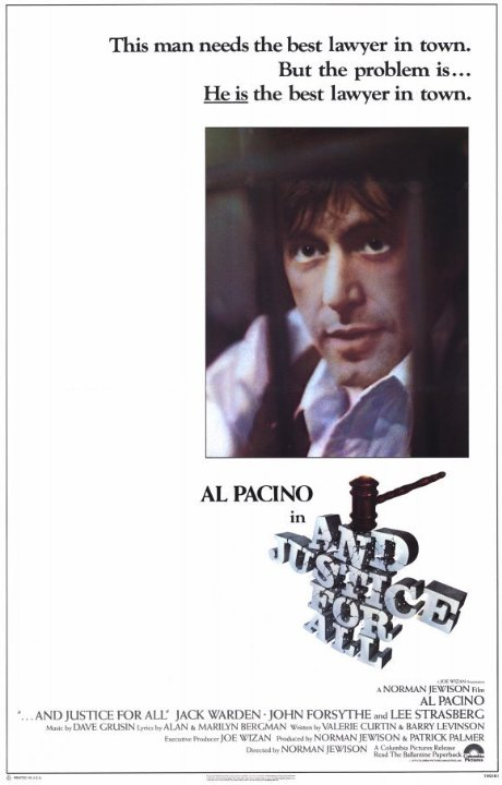 ...And Justice for All. Movie Poster