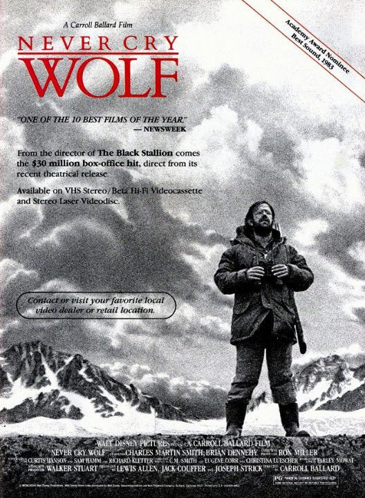 Never Cry Wolf Movie Poster