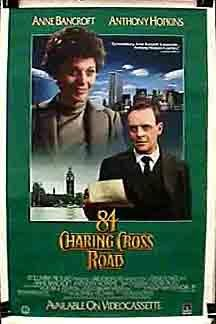 84 Charing Cross Road Movie Poster