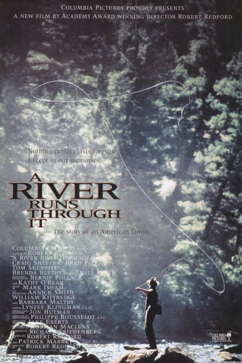 A River Runs Through It Movie Poster