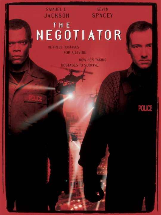 The Negotiator Movie Poster
