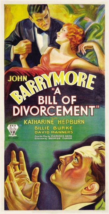 A Bill of Divorcement Movie Poster