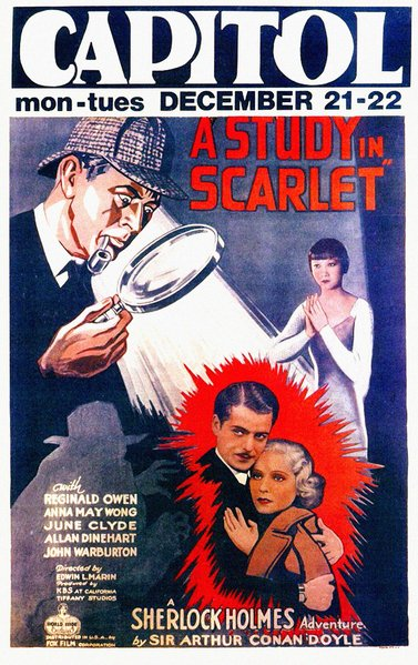 A Study in Scarlet Movie Poster