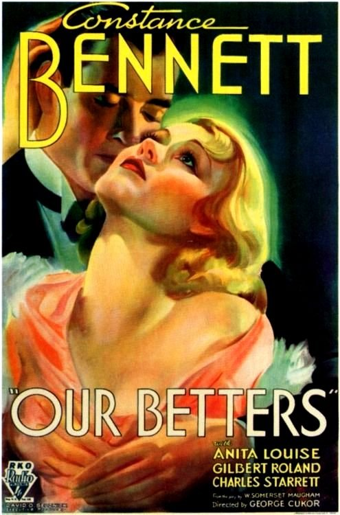 Our Betters Movie Poster