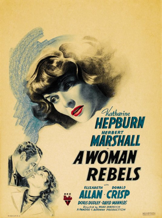 A Woman Rebels Movie Poster