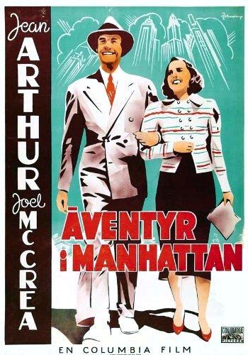 Adventure in Manhattan Movie Poster