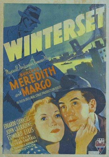 Winterset Movie Poster