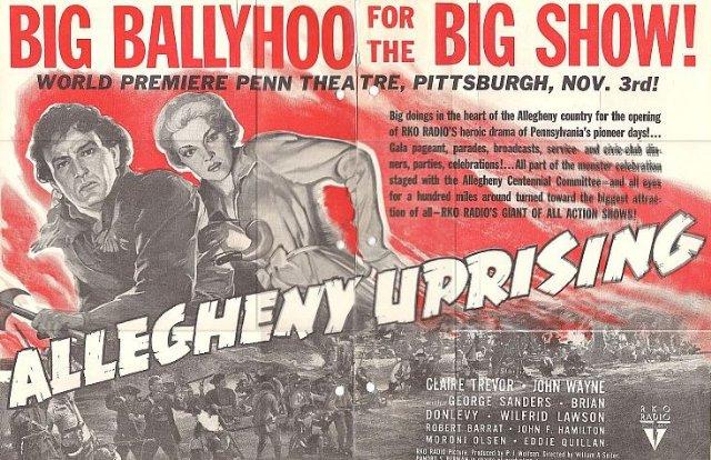 Allegheny Uprising Movie Poster
