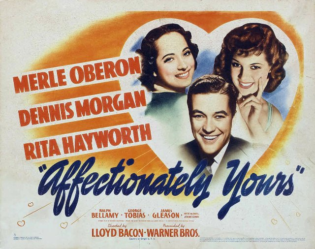 Affectionately Yours Movie Poster