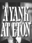 A Yank at Eton Movie Poster