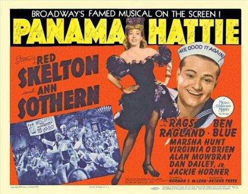 Panama Hattie Movie Poster